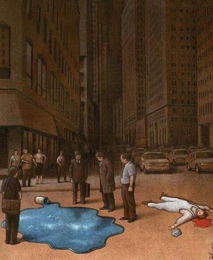 九张反映社会现实和人性的图,看完很心酸!
