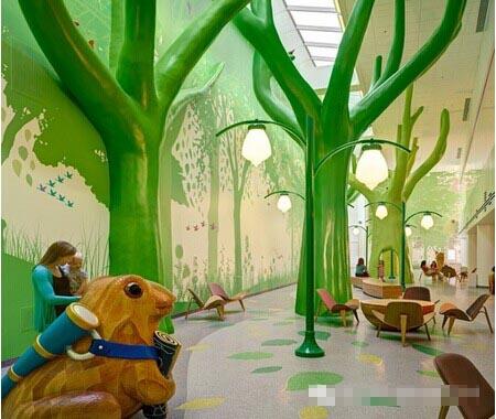 国外儿童医院居然漂亮到这种程度!