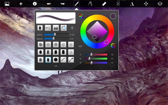 设计师们,排名前10的iPad Apps绘图软件,你造么?