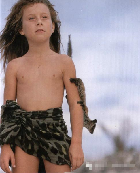 这位非洲最美的小姑娘终于长大了....