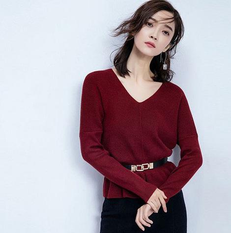 这么穿毛衣有颜值而且好搭又保暖